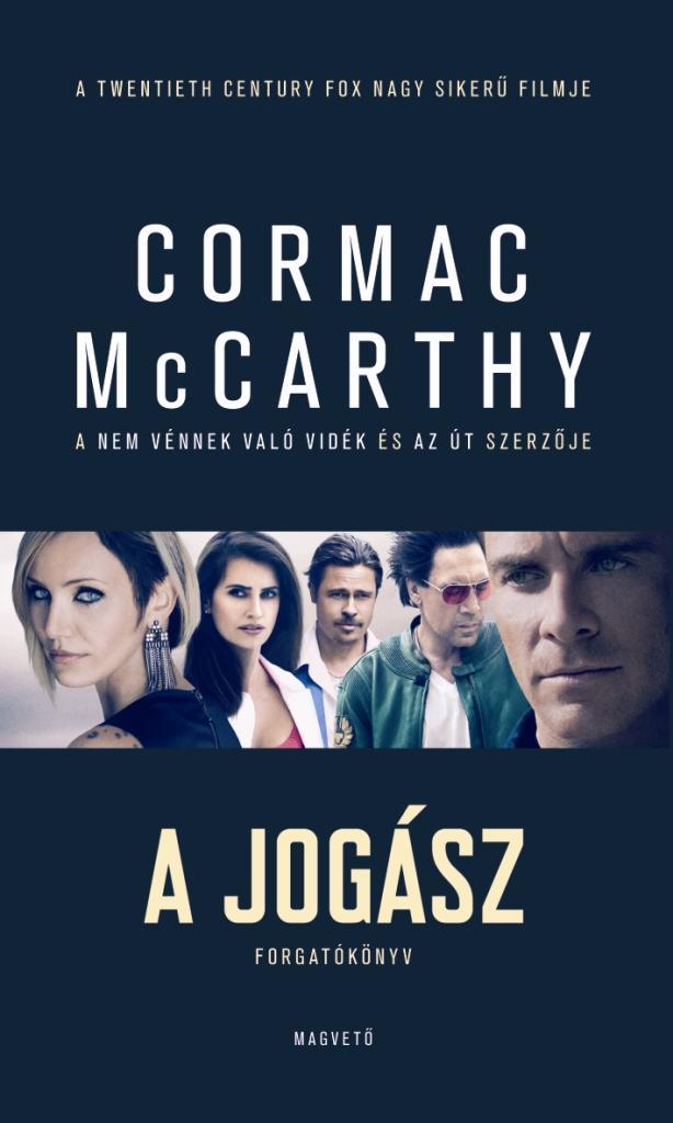 Cormac McCarthy - A jogász - Forgatókönyv