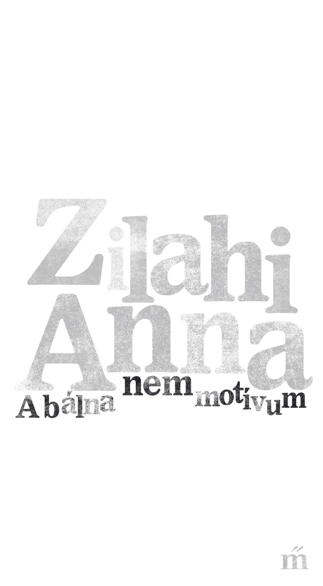 Zilahi Anna - A bálna nem motívum