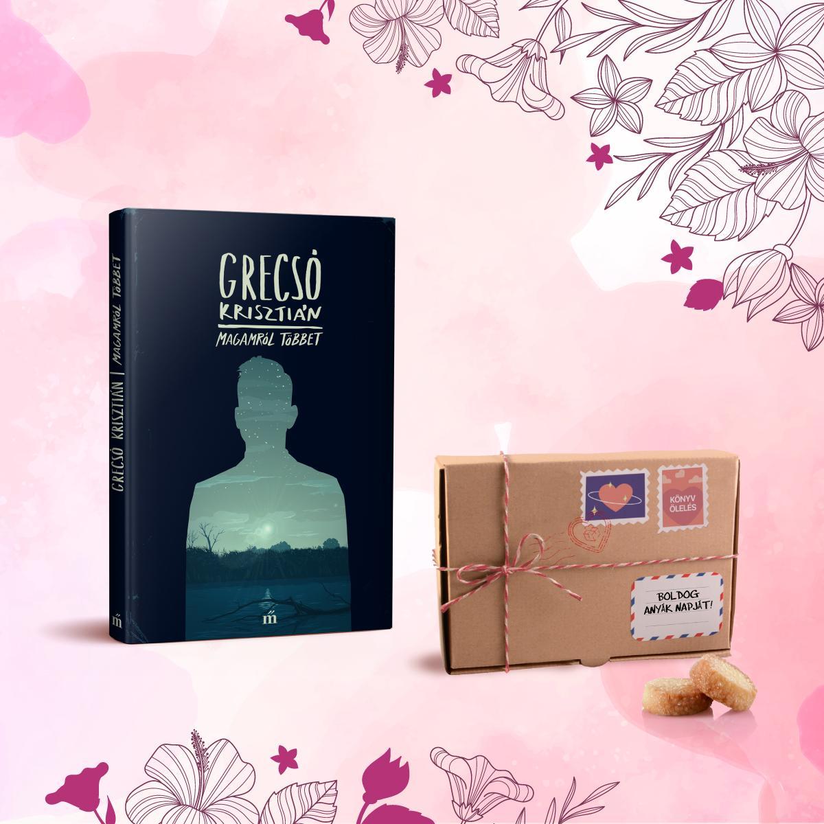 - Könyvölelés Anyák napjára - Magamról többet + Les Cadeaux de Flore keksz