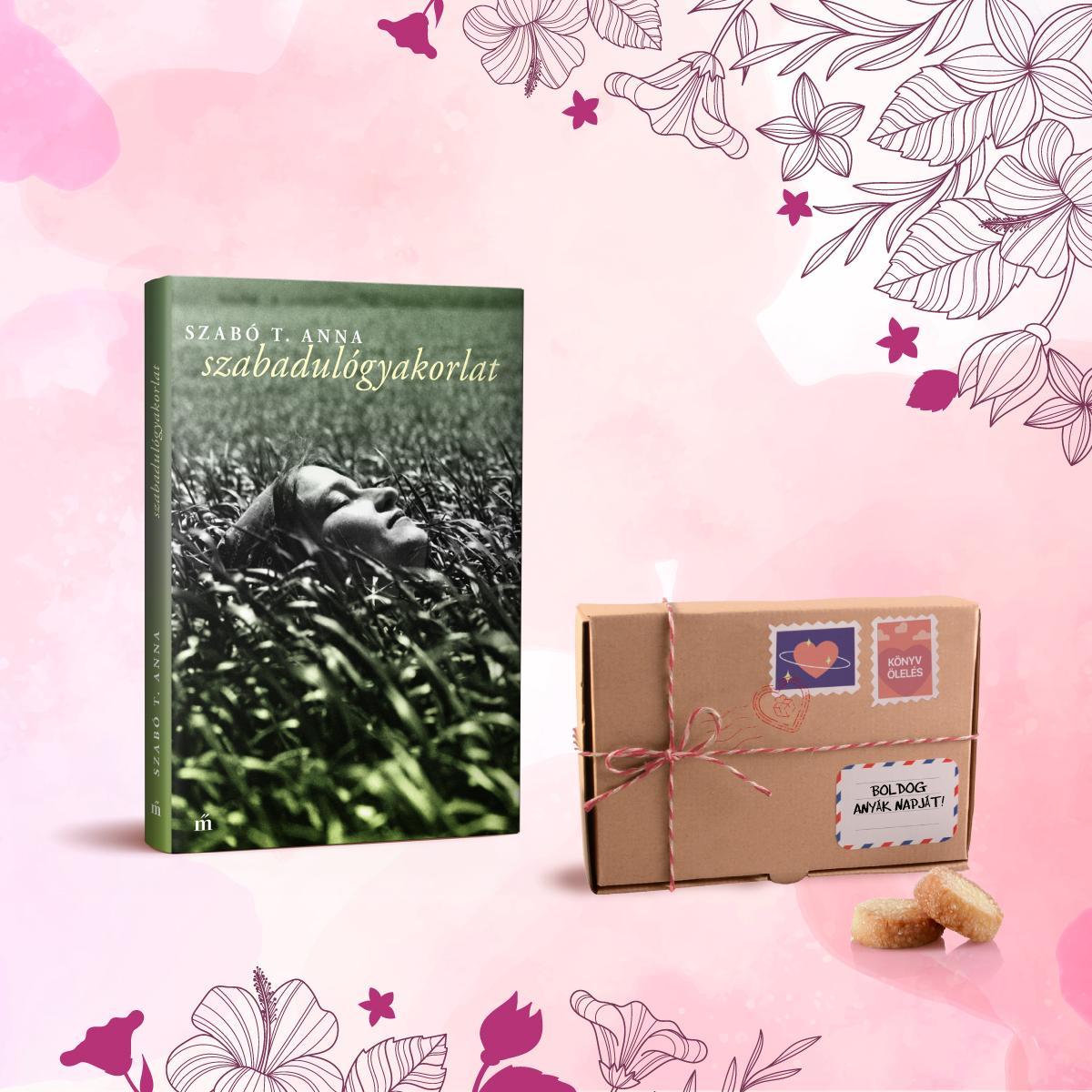 - Könyvölelés Anyák napjára - Szabadulógyakorlat + Les Cadeaux de Flore keksz